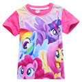 My Little Pony Shirts For Girls Tops Summer Cartoon T-shirt Kids Teen Clothes Children Blouse	 Monya