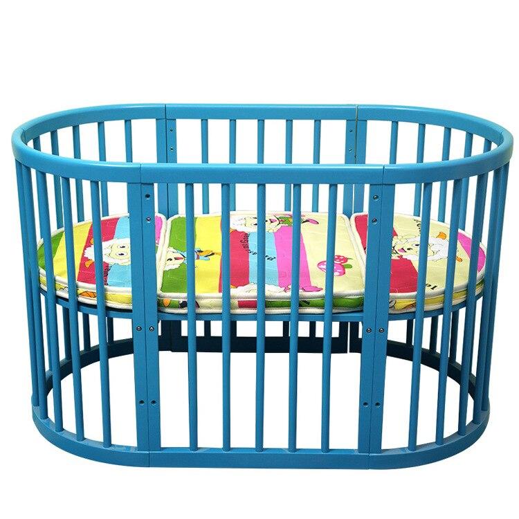 las cunas para beb ropa de cama cuna de madera maciza cama redonda extrable instalacin