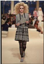 2015 Winter Luxury Diamond Ladies Fragrant Wind Tweed Jacket Woolen Shawl