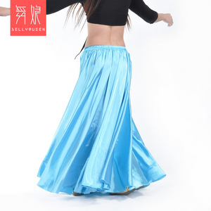 Image 5 - Wholesale Satin Belly Dance Skirt for Women Cheap Belly Dancing Costume Skirts on Sale Women Dance Dress LD010