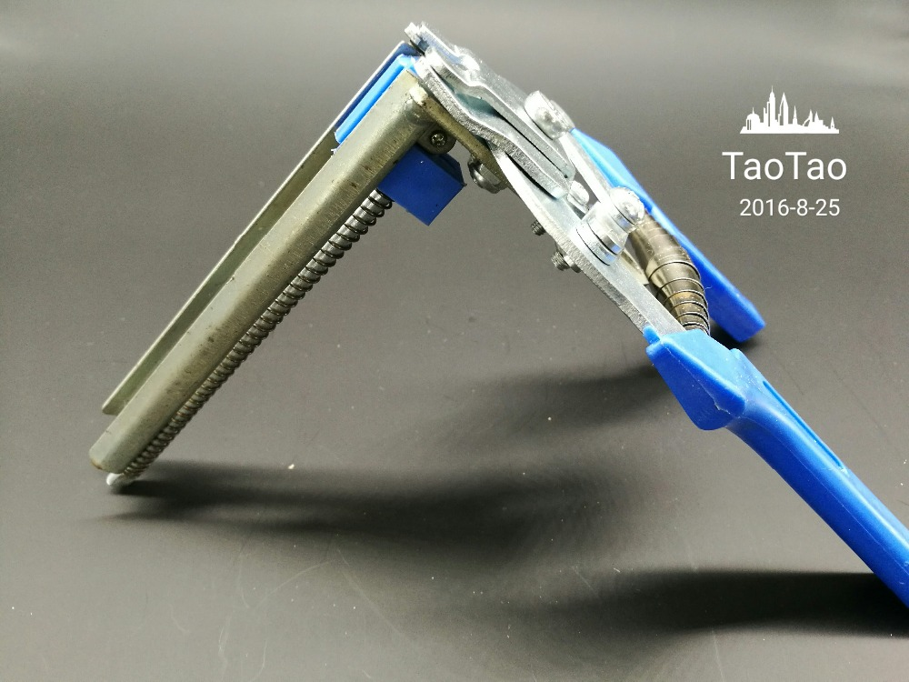 Tie the cage clamp buckle clamp pliers with cage clamp rabbit cages tied M card clamp M nail nail