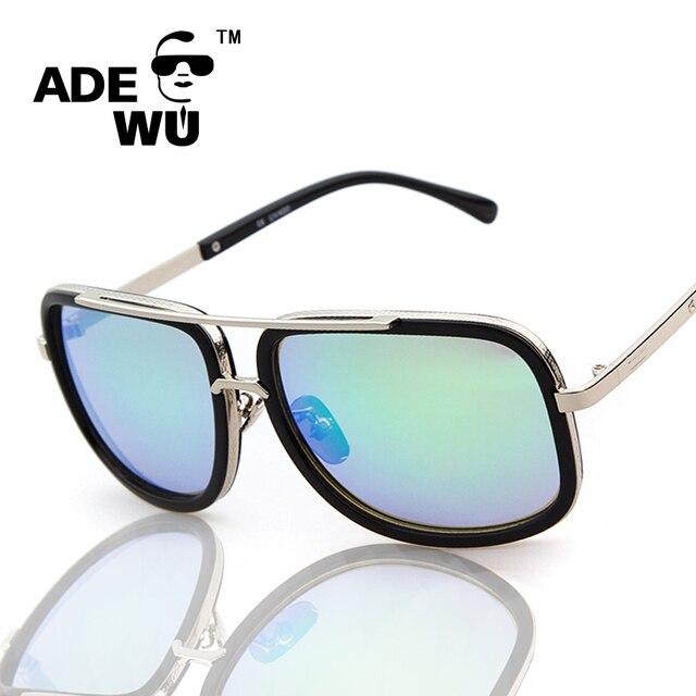 3a3d1ea7a648a ADE WU Óculos De Sol Dos Homens Das Mulheres Marca De Luxo Designer de Gradiente  óculos