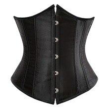 Сексуальный готический корсет под грудь и пояс, бюстье, топ для тренировок, пояс для тела, плюс размер, нижнее белье, S-6XL