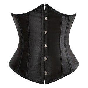 SEXY Gothic Underbust Corset and Waist cincher Bustiers Top Workout Shape Body Belt Plus size Lingerie S-6XL