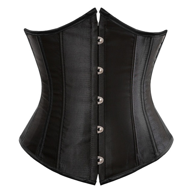 Gothic Leather Corset for Women