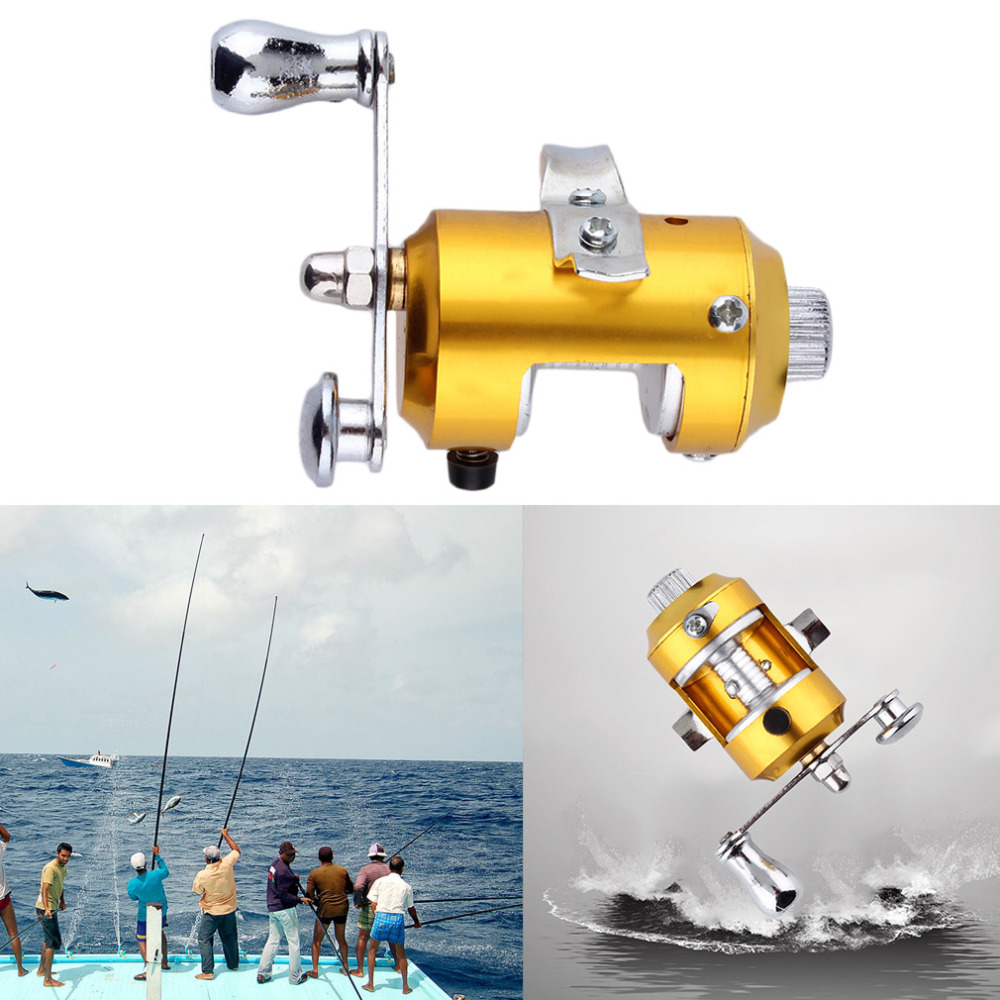 Fishing mini pocket pen fish drum high hard alloy outdoor for Outdoor fishing