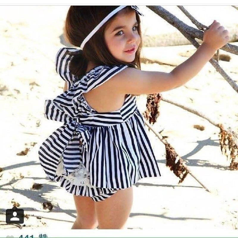 В сезон весна-лето 2018 Новый Европейский торговый платье слинг футболка из 100% хлопка + короткие детские трусы нижнее белье наглухо trian