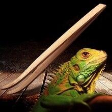 Длинный Супер рептилий деревянный пинцет зажимы 28 см и 16,5 см размер лягушка паук инструмент для подстилки террариума очистки и кормления Прямая поставка