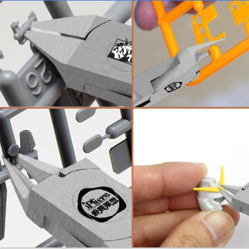 Купить с кэшбэком Ipliers5.9 inches edge super thin single edged cutting pliers sharp cut pliers god hand gold medal pliers Gundam Model nipper