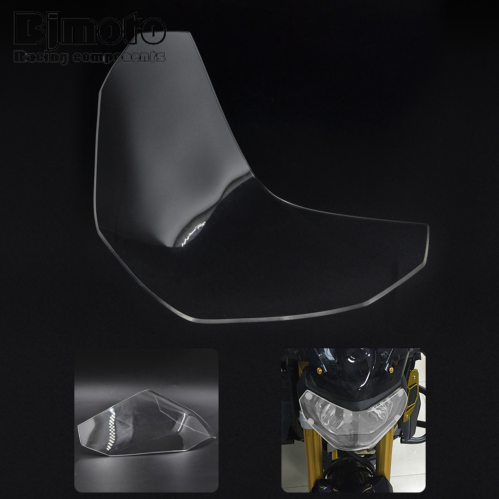 New Motorcycle ABS Headlight Lens Protector Screen For Yamaha MT09 FZ09  MT-09 FZ-09  2013-2016 mtkracing for kymco ak550 motorcycle parts headlight protector cover screen lens ak 550 2017 2018