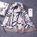 Brand Scarves and Shawls Women Cotton Scarf Pashmina Shawl Gemetric Pattern Scarves Printed Scarves for Women Beach Sarongs Wrap