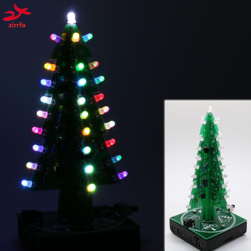 2016 Newest Colorful RGB Christmas Trees Led Electronic Diy Kit