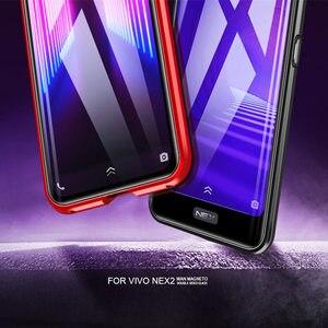 Image 5 - Vivo ため nex 2 デュアルスクリーン磁気ケース nex2 360 フロント + バック両面強化ガラスケース vivo nex 2 磁性金属カバー
