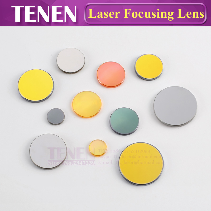 Image 4 - China PVD ZnSe Dia.12 18 19.05 20mm FL38.1 50.8 63.5 76.2 101.6mm CO2 Laser Focus Lens For Co2 Laser Cutting Engraving Machine-in Lenses from Tools