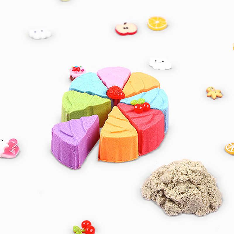 100 г слайм динамический песок Космический песок дети полимерные глиняные игрушки поставки образовательная домашняя масса для лепки Арена волшебный песок для детей