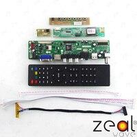 TV Için HDMI VGA USB CVBS RF LCD Denetleyici Kurulu 16.0
