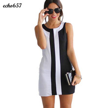 Dress frauen echo657 sexy frauen dame sommer beiläufiges sleeveless abendgesellschaft mini dress jan 10
