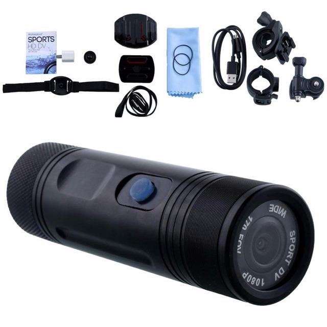 1080 P Waterproof Ação Helmet Camera kamera deportiva Esportes Casque Moto Motocicleta Camcorder Cam Video Camara