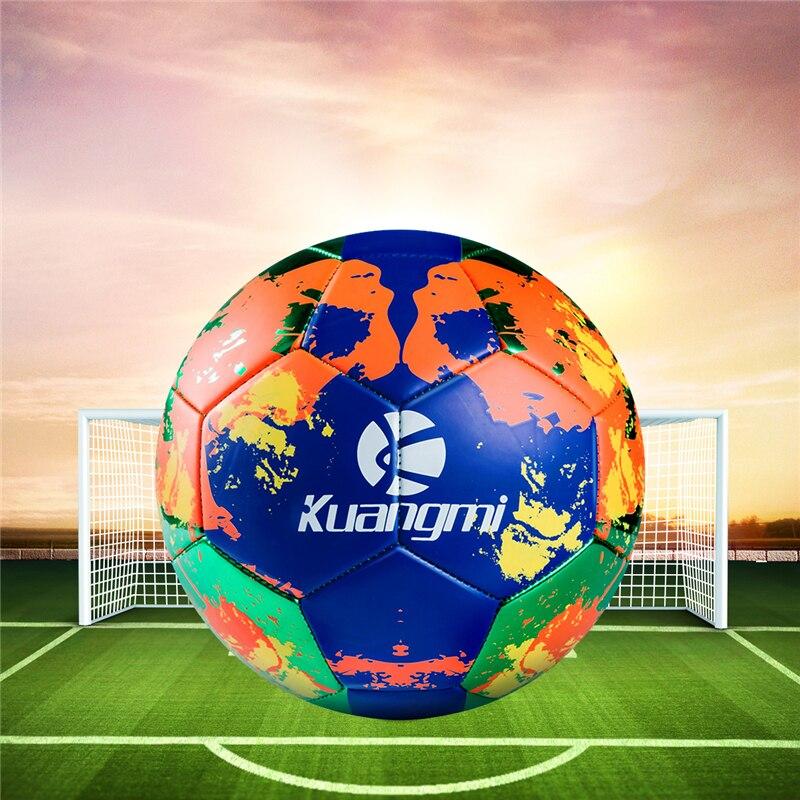 Футбол ПВХ Материал официальный Размеры 5 профессиональные спортивные футбольные футбольный мяч обучение для детей взрослых подарок на День Благодарения - 2