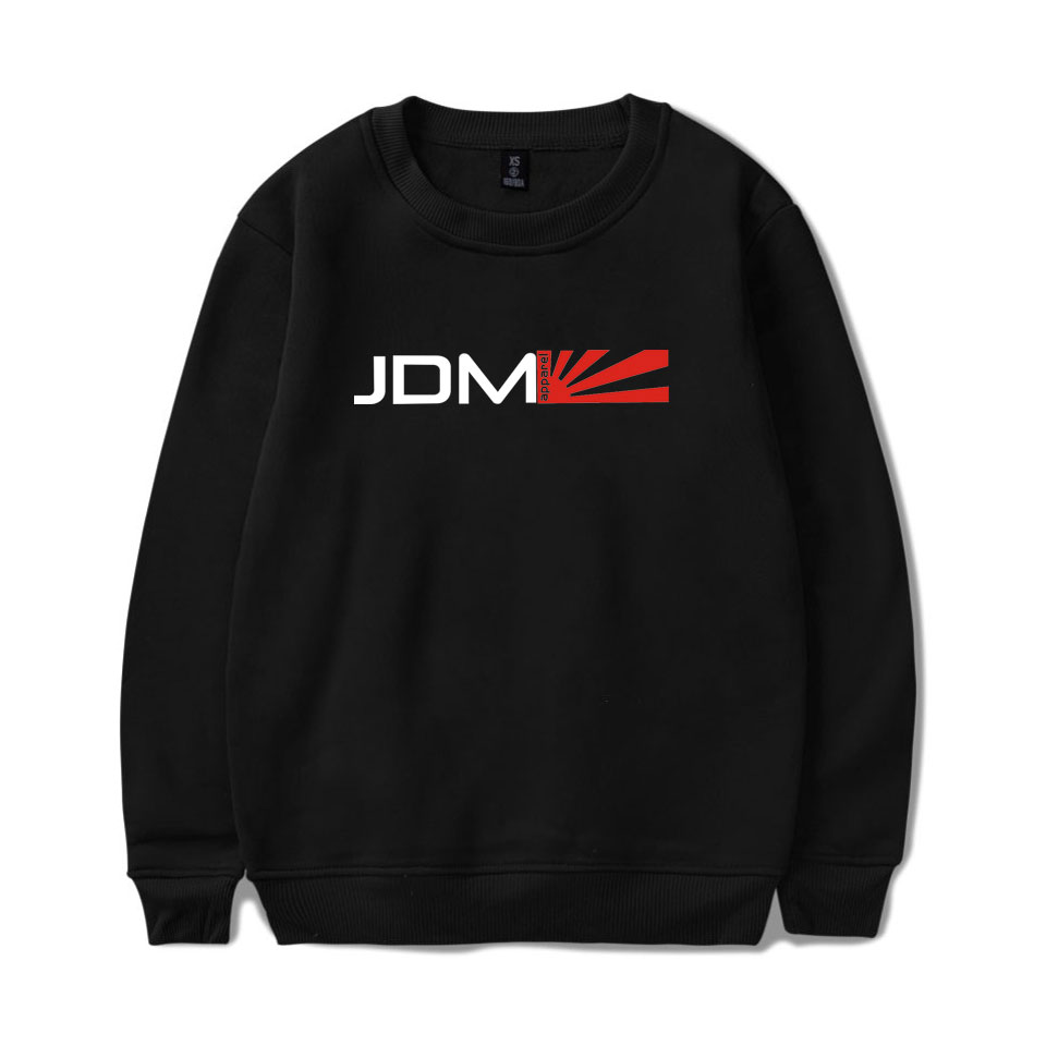New Arrival JDM Sweatshirts Harajuku Cool And Fashion Style Hoodies Hip Hop Men/women Casual Hooded Sweatshirt XXS To 4XL