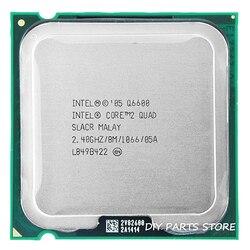 4 コアインテルコア 2 クワッド Q6600 ソケット LGA 775 Cpu プロセッサ 2.4Ghz の/8 メートル/1066 MHz)