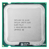 4 Core INTEL Core 2 QUDA Q6600 CPU Processor 2 4Ghz 8 M 1066GHz Socket 775