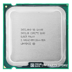4 core INTEL Core 2 QUAD Q6600 Socket LGA 775 CPU procesador 2,4 Ghz/8 M/1066 MHz)