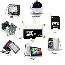 8GB Micro SD Card Class10 Memory For Car DVR Camera GPS Maps Storage