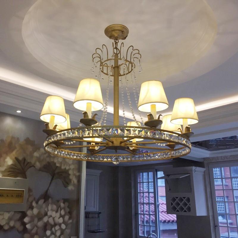 chandelier in the hallway Modern Luxury LED