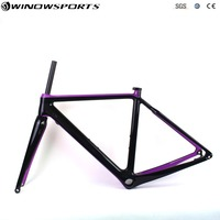 Carbon Cyclocross Bike Frame T800 Carbon Gravel Bicycle Frame Disc Brake Carbon CX Carbon Racing Cycling Cyclo Cross Frameset