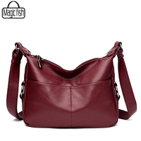 2017 Famous Brand Leather Women Bags Elegant Luxury Women Messenger Bags Casual Ladies Bag Fashion Medium