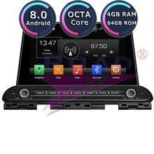 Roadlover 9 «Android 8,0 Автомобильный плеер Видео Для Киа церато Форте 2018 Стерео gps навигации Automagnitol 2 Din нет DVD