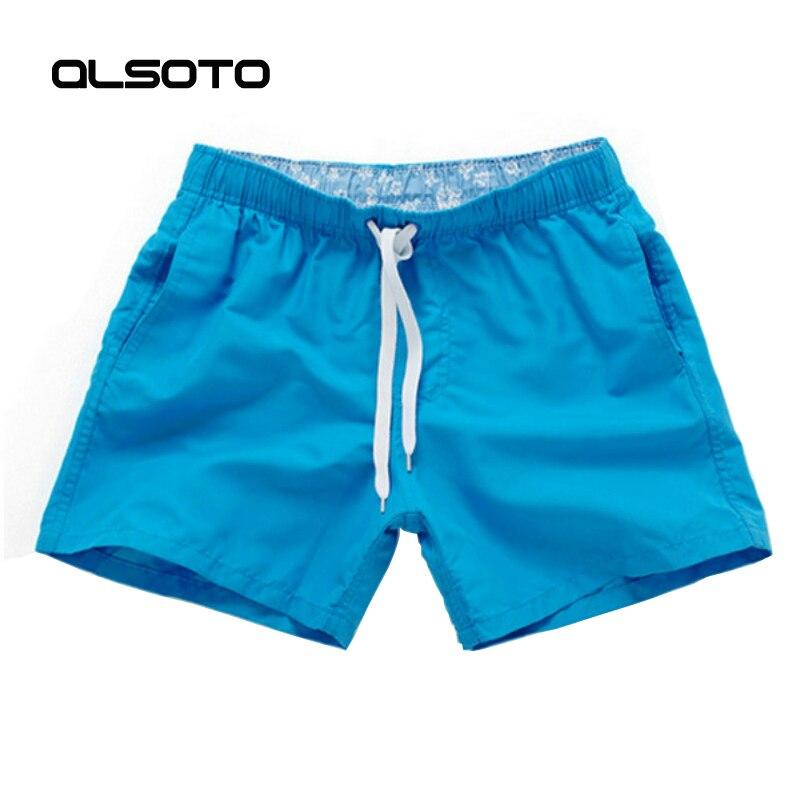 Sommer stil Männer Laufhose Dünne Einfarbig Basketball Fitness Sport Surf Board Kurze Hosen Strand Shorts Homme Moda Praia