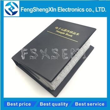 170values *50pcs=8500pcs Sample Book  1206 SMD resistor 1% 0R~10M Sample Book  Resistors Assortment Kit