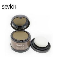 SEVICH Hairline Cover Powder Hair Shadow Powder HairLine Modified Powder Fill in Trimming Beauty Cosmetics Hair Loss Concealer