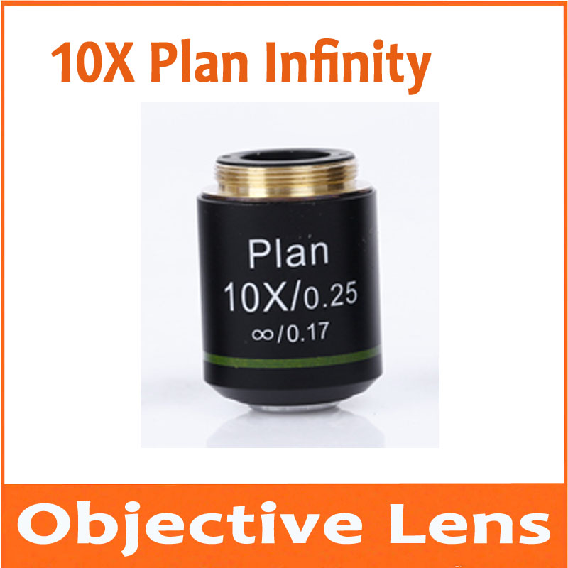 10 Times Infinity Plan Achromatic Objective Lens for Educational Lab School Olympus Biomicroscope Biological Microscope 20.2mm10 Times Infinity Plan Achromatic Objective Lens for Educational Lab School Olympus Biomicroscope Biological Microscope 20.2mm