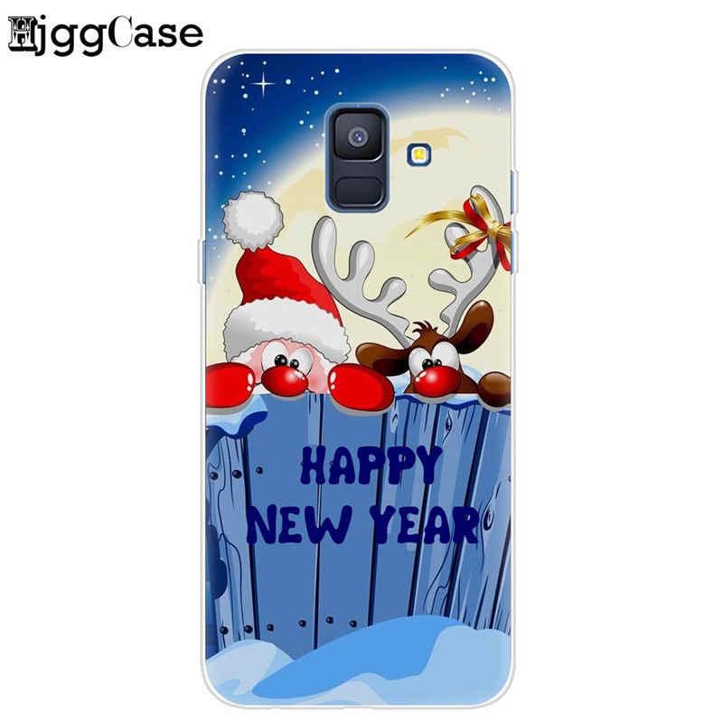 لينة سيليكون الهاتف غطاء ل كوكه سامسونج غالاكسي S6 S7 حافة S8 S9 J6 J5 J7 A5 2017 A6 A8 زائد 2018 عيد ميلاد سعيد جراب هاتف