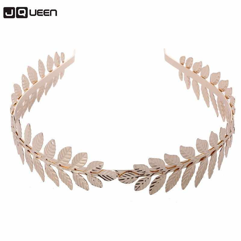 Top Sale Alloy Gold Silver Color Leaf Headbands For Bride Hair Decorate 2018 New Fashion Wedding Ornaments