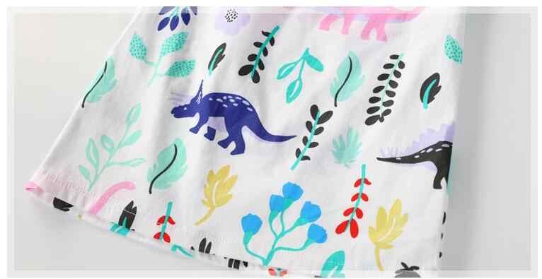 fa87fbe75849e ... Little maven kids brand clothes 2017 autumn new baby girls clothes  Cotton dinosaur print girl dresses ...