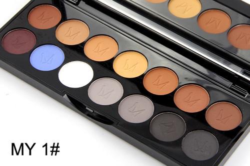 2016 MISS ROSE Shimmer 14colors diamond bright colorful eye shadow super flash paleta Glitter eyeshadow pallete matte Eyeshadow2