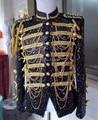 Borlas dragona correntes de ouro lantejoulas jaqueta Top Outerwear terno cantor DJ DS palco de dança desempenho trajes do desgaste Blazer