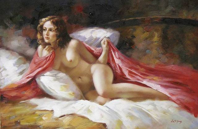 European nude Beautiful art women