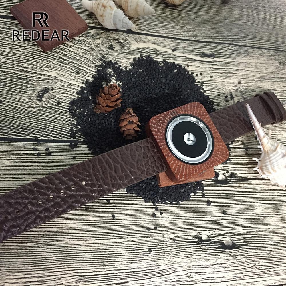 REDEAR Timepieces Bamboo Watch för Män Kvinnor Trä Quartz Klockor - Damklockor - Foto 4
