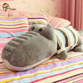 65cm to 85cm  super cute animal alligator pillow high-quality PP cotton super soft short plush doll gift to send his girlfriend