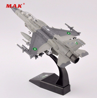 Kids Toys 1 72 Scale Diecast F 16 Block 52 Pakistan Air Force Aircraft Model Collection
