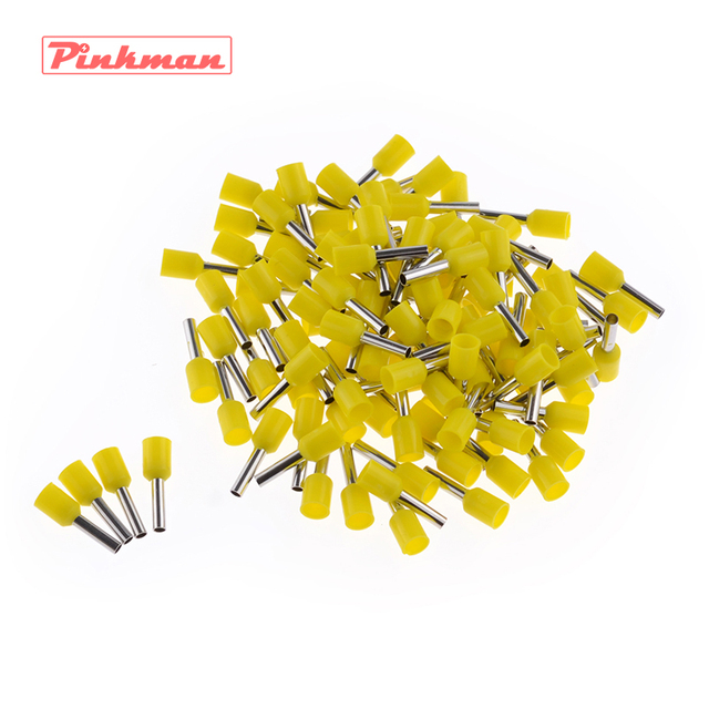 20/50/100pcs E1508 Tube insulating terminals AWG 16 Insulated Cable Wire 1.5mm2 Connector Insulating Crimp Terminal Connect