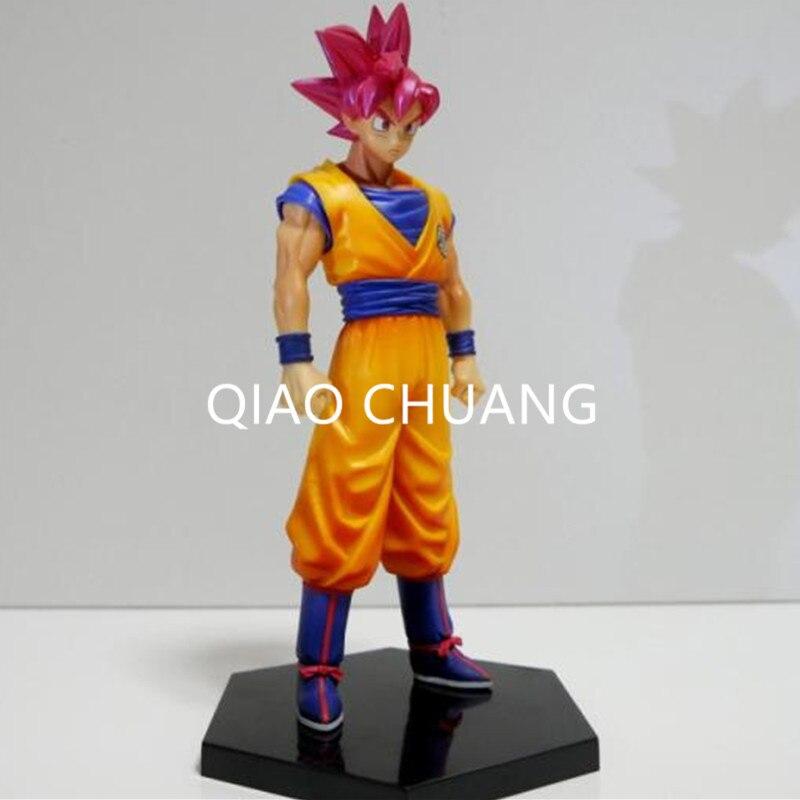 Dragon Ball Red Hair Son Goku Palgantong Anime A Martial Arts World PVC Action Figure Collection Model Toy G137