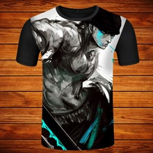 One Piece T Shirt Luffy Straw Hat Japanese Anime T Shirts O-neck Black T-shirt For Men Anime Design One Piece T-shirt