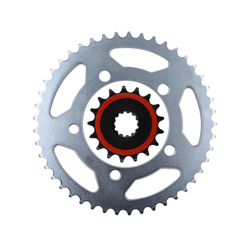 Motorcycle Parts Front & Rear Sprocket Kit 45 - 17 Tooth For BMW S1000RR S 1000 RR 2009-2014 Type Fit 525 Chain motorcycle pillion passenger rear seat cover cowl for 2009 2014 bmw s1000rr s 1000 rr 2009 2014
