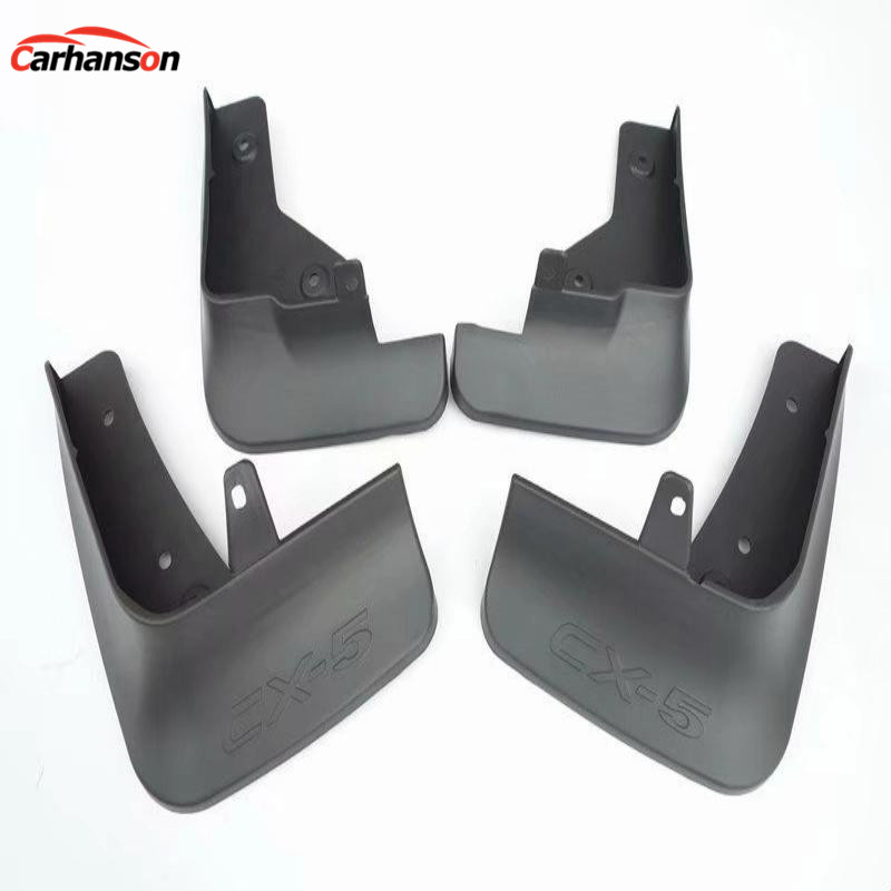 Car Accessories Styling for Mazda CX-5 CX 5 CX5 2017 2018 Splash Guards Front Rear Mud Guard Mud Flaps Fender splash guards 4pcs front rear mud splash flaps guard fender for benz v class vito metris viano w447 2015 2016 with running board